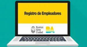 CIUDAD DE BUENOS AIRES: PLAZO PARA LA CARGA DE INFORMACIÓN DEL REGISTRO DE EMPLEADORES ON LINE